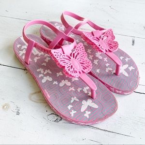 Ipanema Sandals Pink Butterfly